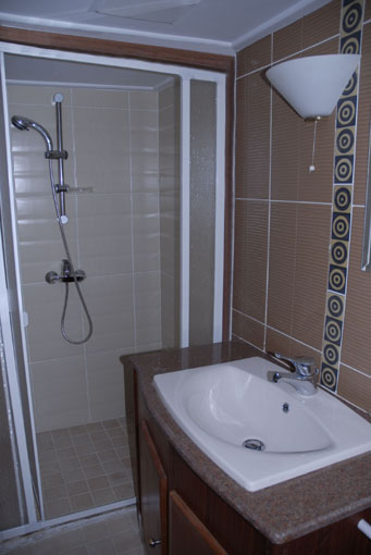Bateau - Salle de bain de bateau ...